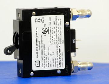 D2ALX20040 (1 Pole, 10A, 80VDC, Plug-In Terminals, Series Mid-Trip w/alarm, UL Listed (UL 489))