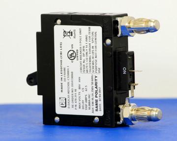 DDA130060 (1 Pole, 50A, 80VDC, Plug-In Terminals, Series Mid-Trip w/alarm, UL Listed (UL 489))