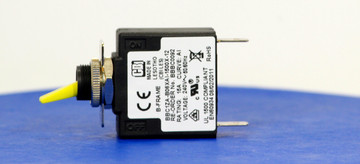 BBBC0092 (1 Pole, 15A, 120VAC, Quick Connect, Series Trip, UL Recognized (UL 1077))
