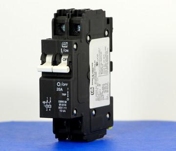 QY28U220B0 (2 Pole, 20A, 80VDC, UL Listed (UL 489))