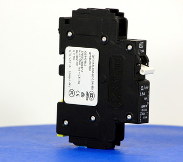 QY18U20.5B0 (1 Pole, 0.5A, 80VDC, UL Listed (UL 489))