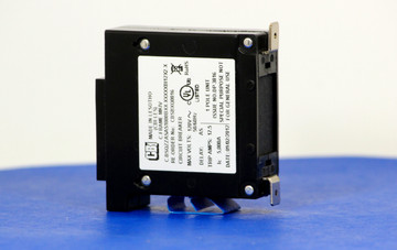 CBSBXQ0016 (1 Pole, 10A, 120VAC, Quick Connect Terminal, Series Trip, UL Listed (UL 489))