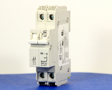 QZD28206 (2 Pole, 6A, 277/480VAC, UL Recognized (UL 1077))