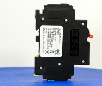 QL18125 (1 Pole, 25A, 120VAC; 240VAC, UL Listed (UL 489))