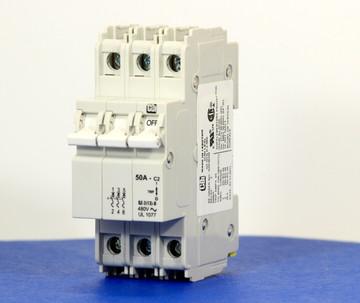 QZD38250 (3 Pole, 50A, 277/480VAC, UL Recognized (UL 1077))