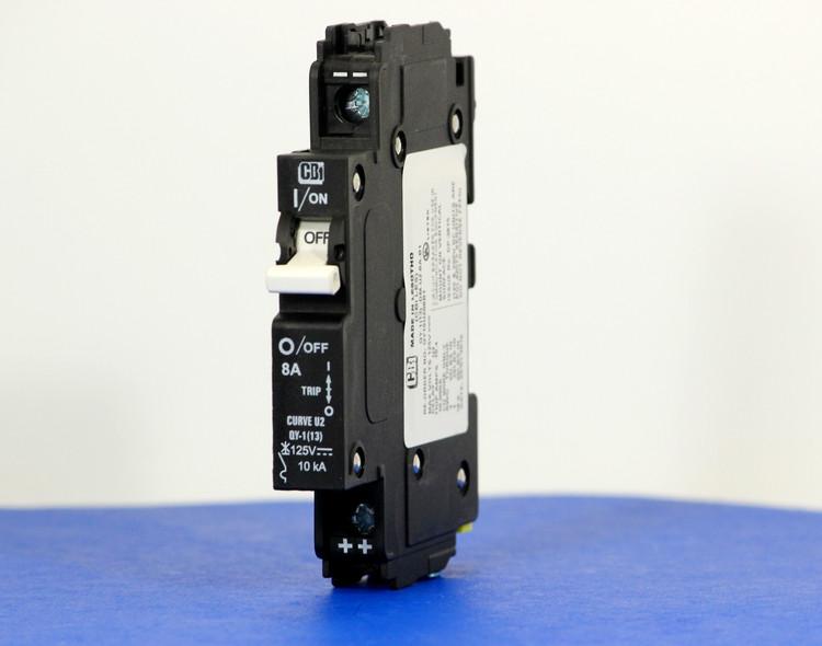 QY19U208B1 (1 Pole, 8A, 125VDC, UL Listed (UL 489))