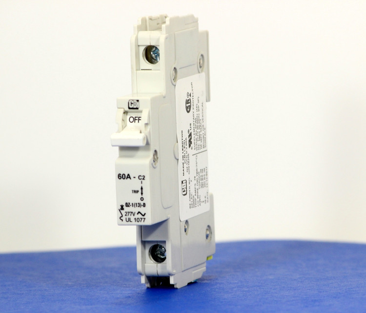 QZD18260 (1 Pole, 60A, 277VAC, UL Recognized (UL 1077))