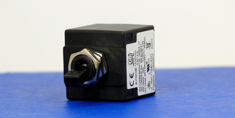 BABC0041 (2Pole, 10A, 65VDC/240VAC, Quick Connect, Series Trip, UL Recognized (UL 1077))