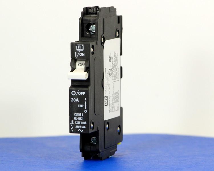 QL18920 (1 Pole, 20A, 120VAC; 240VAC, UL Listed (UL 489))