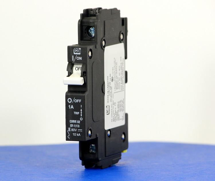 QY18U201B0 (1 Pole, 1A, 80VDC, UL Listed (UL 489))
