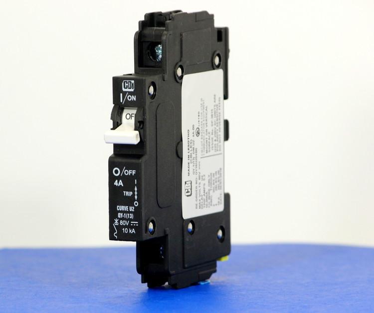 QY18U204B0 (1 Pole, 4A, 80VDC, UL Listed (UL 489))