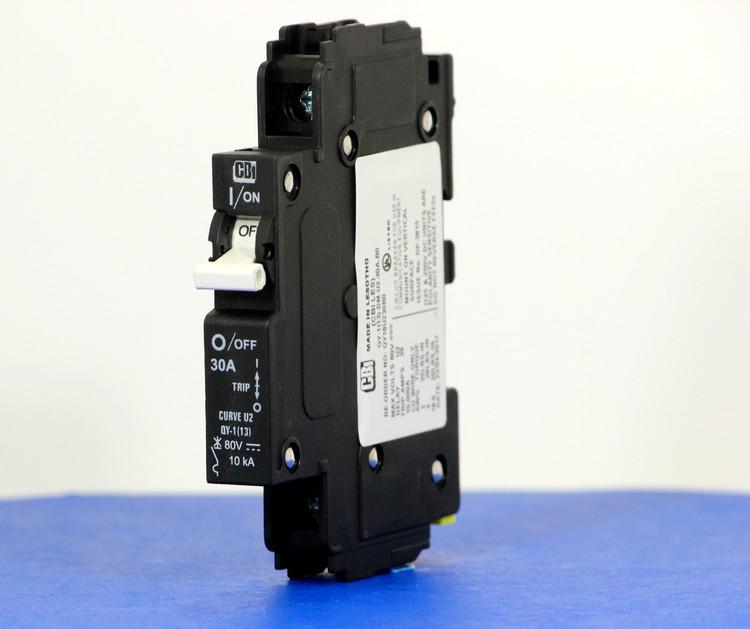 QY18U230B0 (1 Pole, 30A, 80VDC, UL Listed (UL 489))