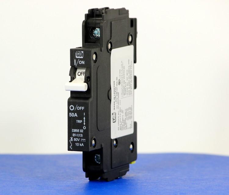 QY18U250B0 (1 Pole, 50A, 80VDC, UL Listed (UL 489))