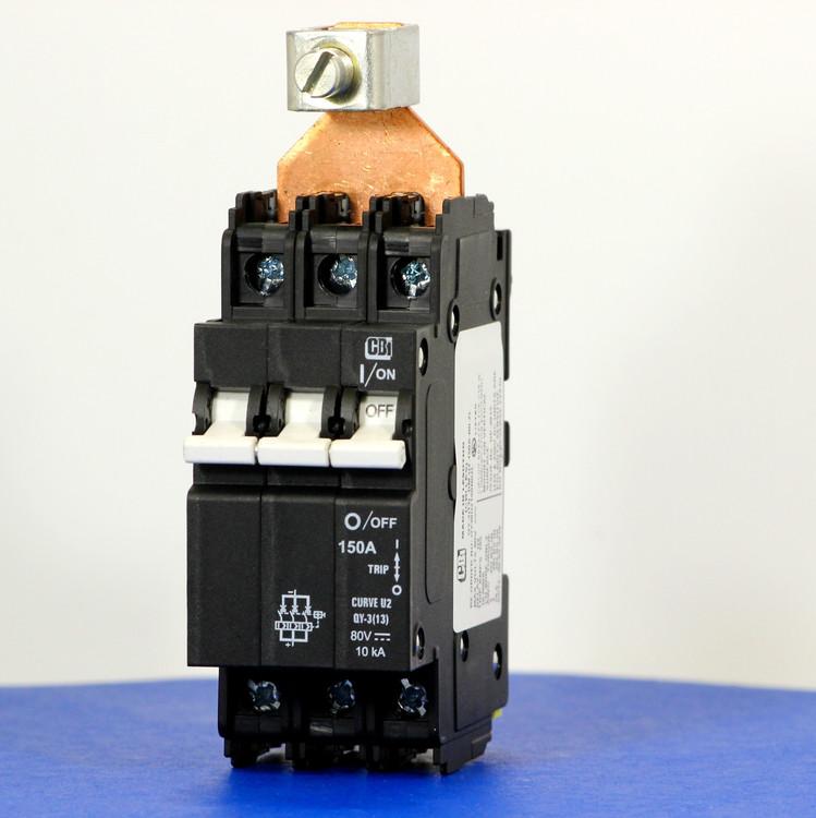 QY38U2150B0ZL (3 Pole, 150A, 80VDC, UL Listed (UL 489))