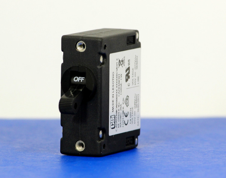 CA2BXA0101 (1 Pole, 20A, 65VDC/240VAC, Screw Terminal, Series Trip, UL Recognized (UL 1077))