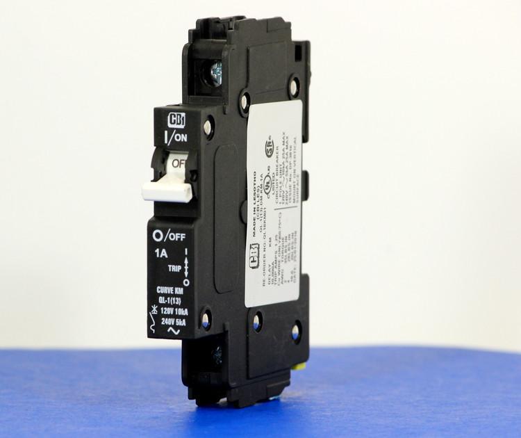 QL18KM01 (1 Pole, 1A, 120VAC; 240VAC, UL Listed (UL 489))