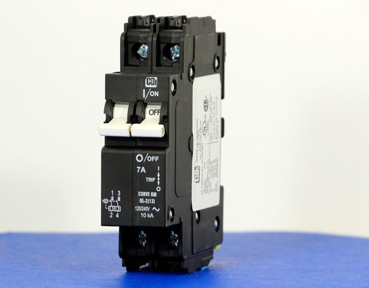 QL29KM07 (2 Pole, 7A, 120/240VAC; 240VAC, UL Listed (UL 489))