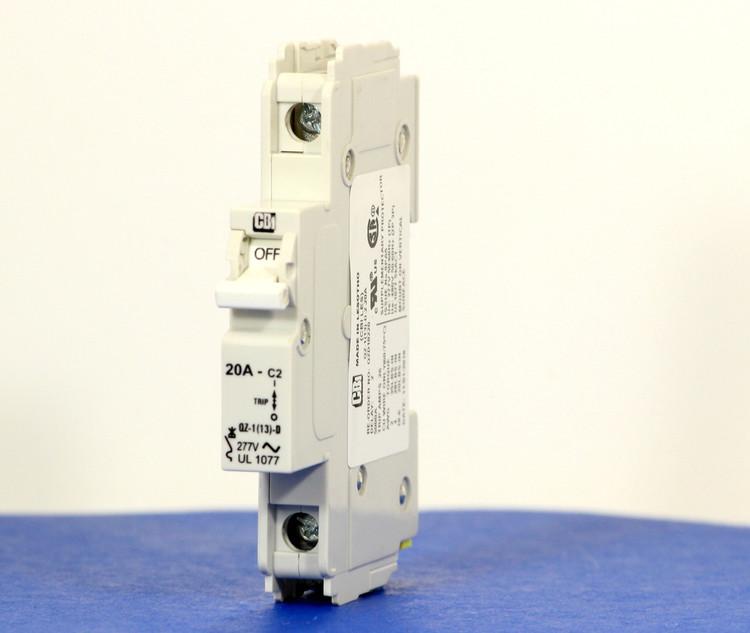 QZD18220 (1 Pole, 20A, 277VAC, UL Recognized (UL 1077))