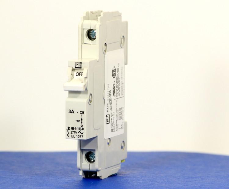 QZD18903 (1 Pole, 3A, 277VAC, UL Recognized (UL 1077))