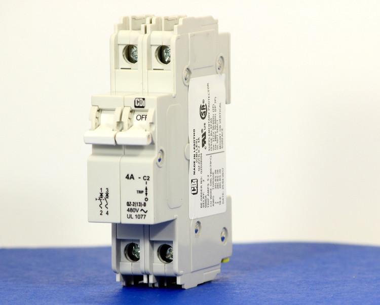 QZD28204 (2 Pole, 4A, 277/480VAC, UL Recognized (UL 1077))