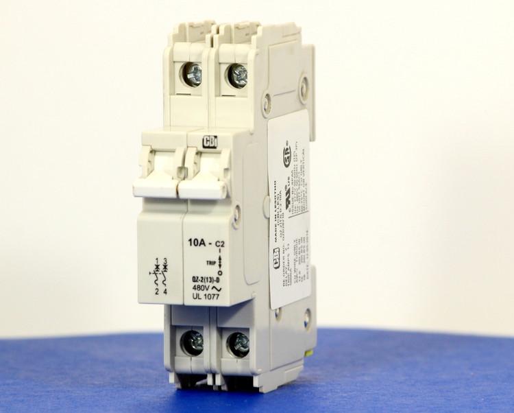 QZD28210 (2 Pole, 10A, 277/480VAC, UL Recognized (UL 1077))