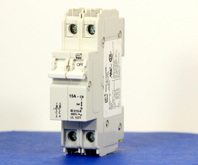 QZD28915 (2 Pole, 15A, 277/480VAC, UL Recognized (UL 1077))