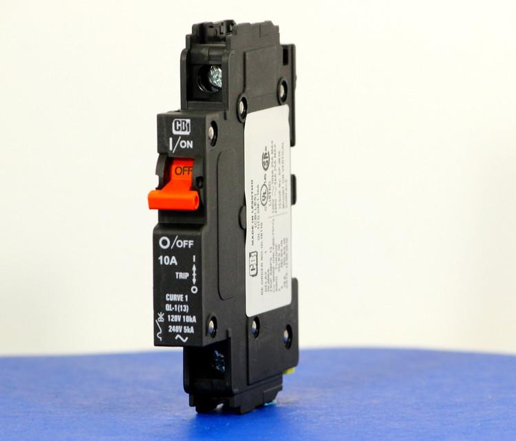 QL18110 (1 Pole, 10A, 120VAC; 240VAC, UL Listed (UL 489))
