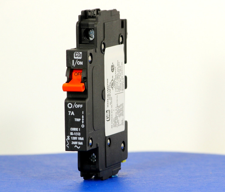 QL19107 (1 Pole, 7A, 120VAC; 240VAC, UL Listed (UL 489))