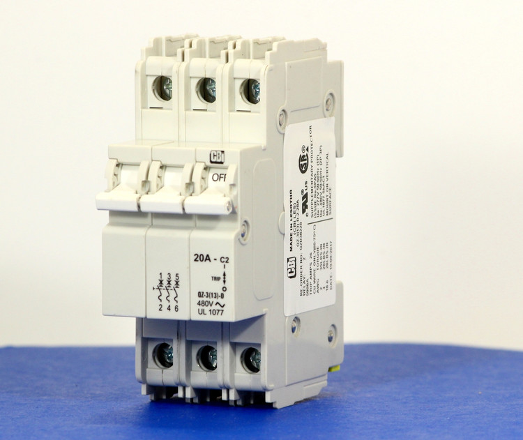 QZD38220 (3 Pole, 20A, 277/480VAC, UL Recognized (UL 1077))