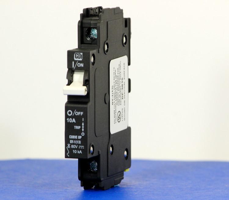 QY18OP10B0 (1 Pole, 10A, 80VDC, UL Listed (UL 489))