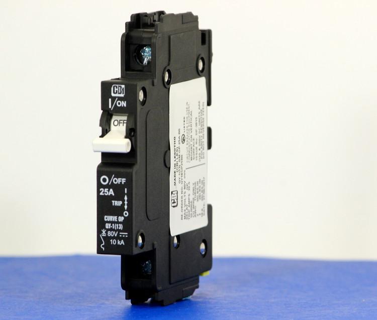 QY18OP25B0 (1 Pole, 25A, 80VDC, UL Listed (UL 489))