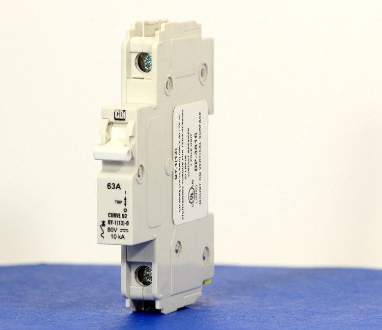 QYD18U263B0 (1 Pole, 63A, 80VDC, UL Listed (UL 489))