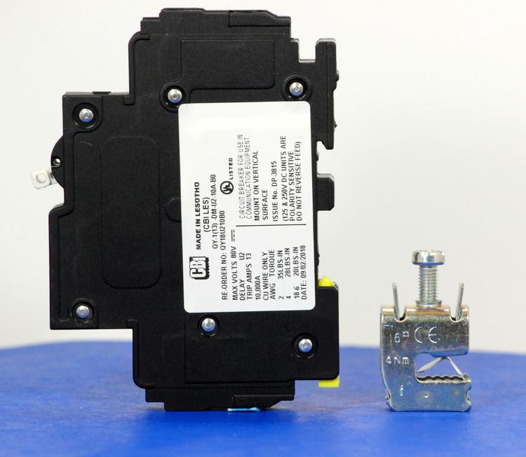 Qkit10A01 (Telecom Kit 3799253300 Breaker + Clamp)