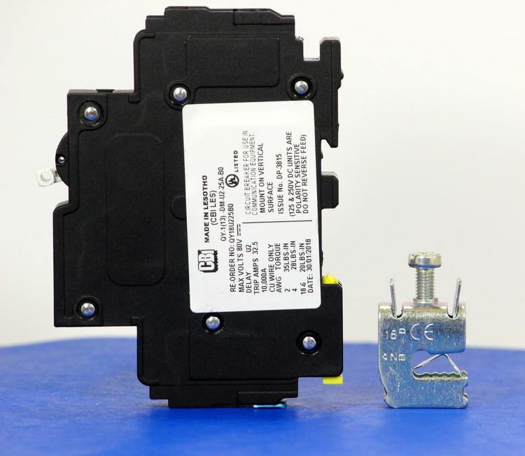 Qkit25A01 (Telecom Kit 3799259200 Breaker + Clamp)