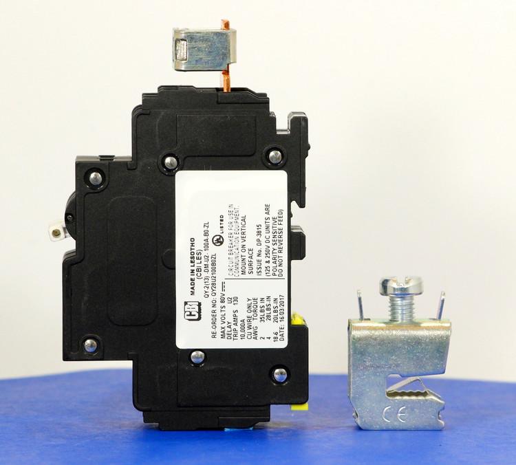 Qkit100A01 (Telecom Kit 3799253800 Breaker + Clamp)