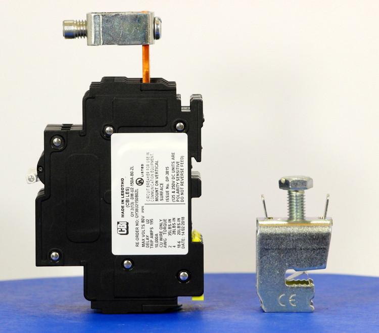 Qkit150A01 (Telecom Kit 3799253900 Breaker + Clamp)