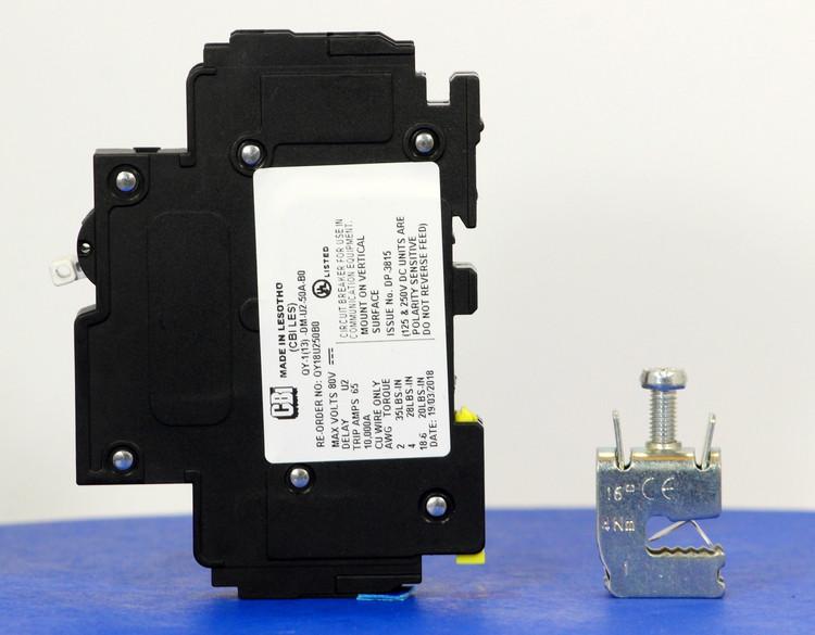 Qkit50A01 (Telecom Kit 3799258900 Breaker + Clamp)