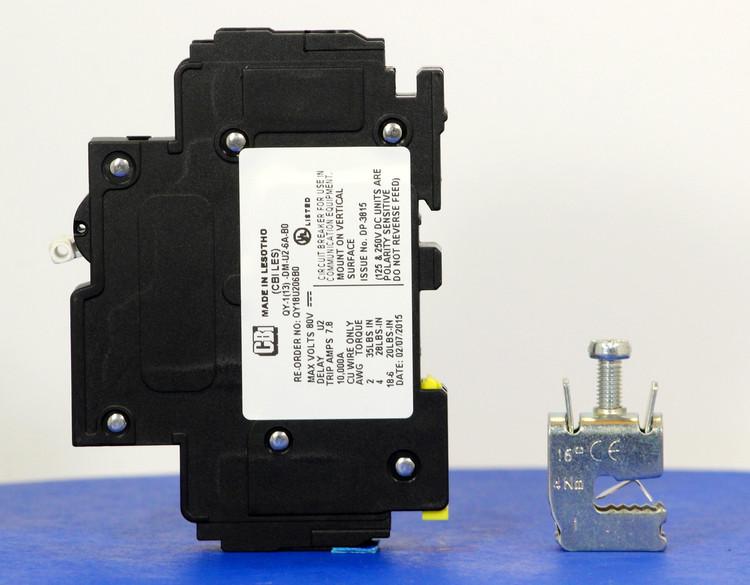 Qkit06A01 (3799254100 Telecom Kit    Breaker + Clamp)