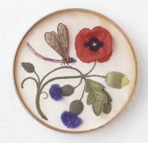 Field Flowers and Damselfly