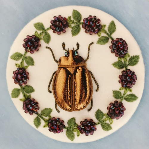 Beetle and Boysenberries