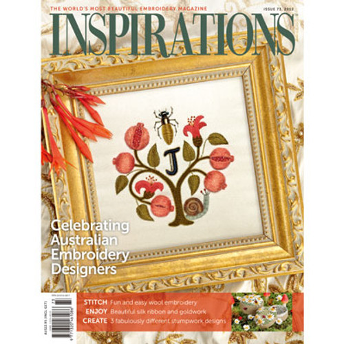 This design was featured on the cover of Inspirations magazine
