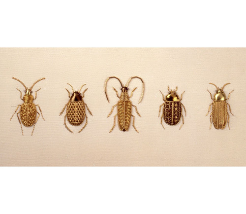 Goldwork Beetle Sampler