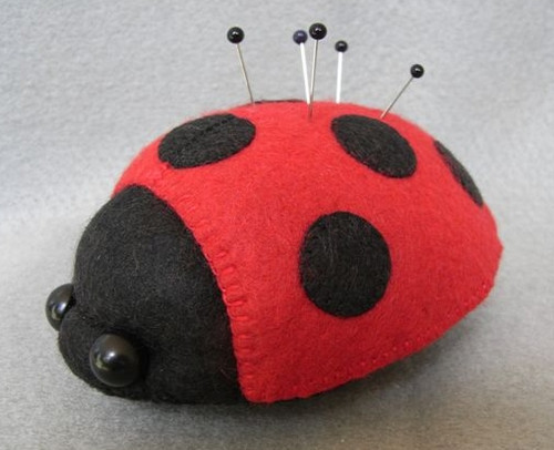 Ladybird Pincushion
