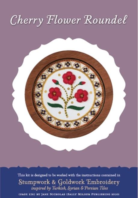 Cherry Flower Roundel