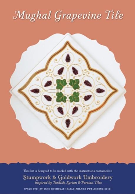 Mughal Grapevine Tile