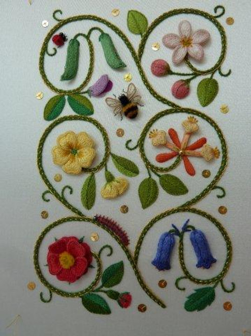 Elizabethan Flower Panel Class