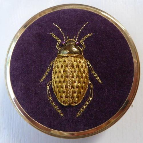 Beetlemania - Goldwork Diving Beetle