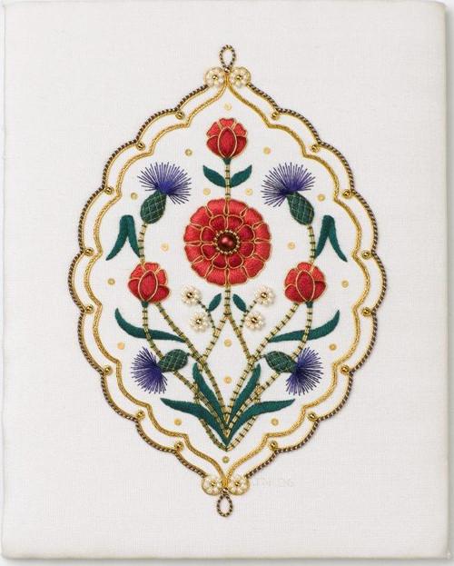 Persian Peony Tile Class