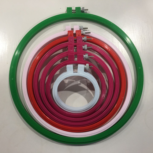 Super hold plastic embroidery hoop