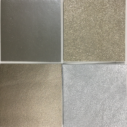 Leather assortment 6 - Pale metallic